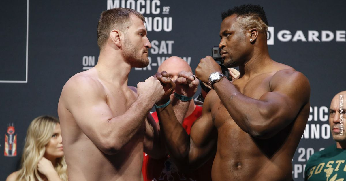 Dana White: Stipe Miocic vs. Francis Ngannou 2 being targeted for UFC 260 main event
