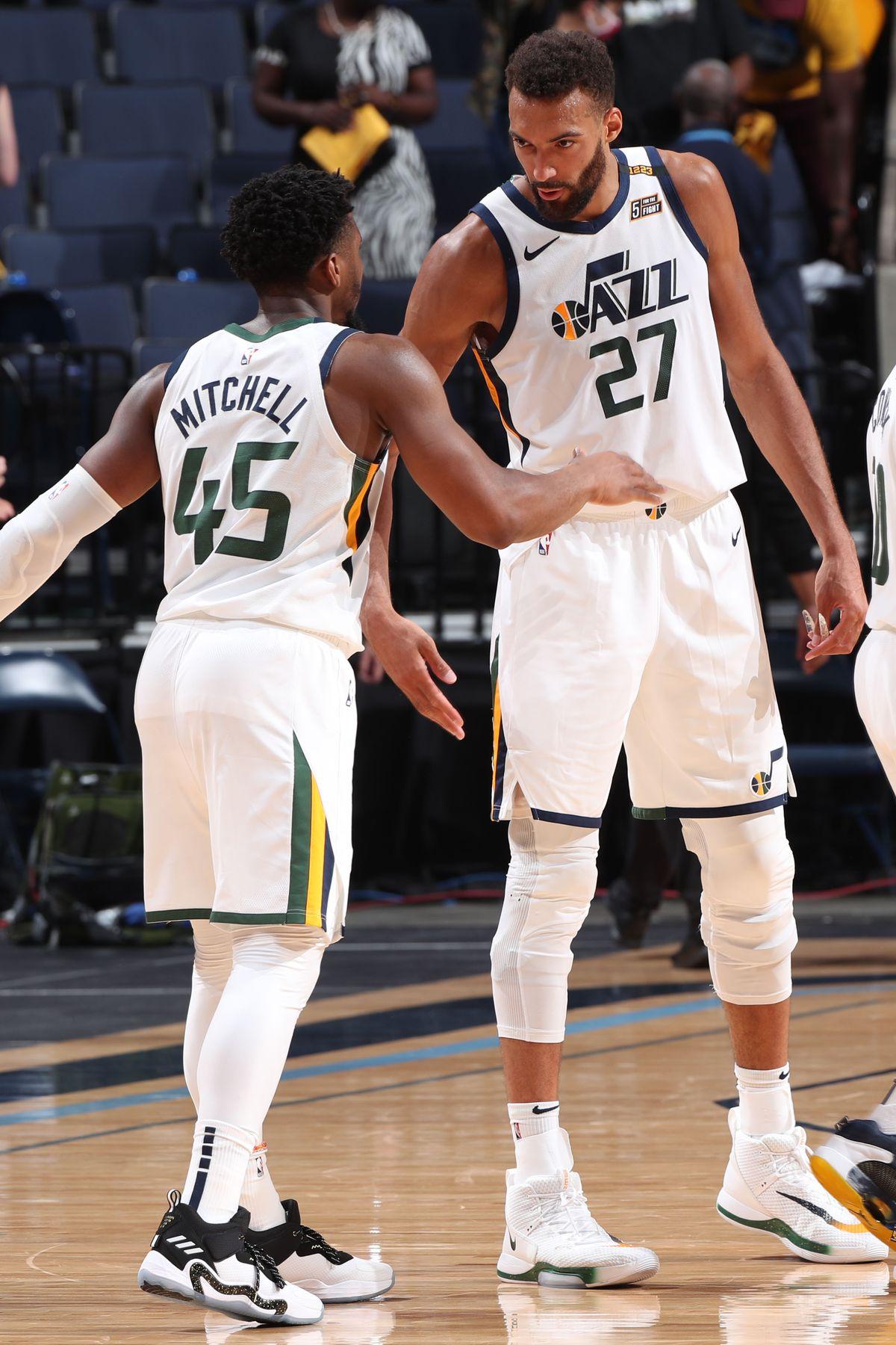 2021 NBA Playoffs - Utah Jazz v Memphis Grizzlies