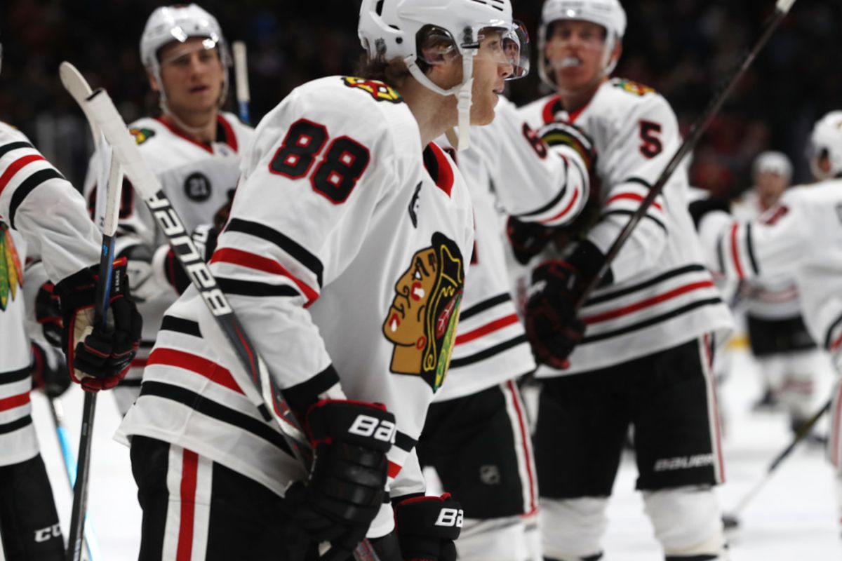 Patrick Kane Rips Game Winner As Blackhawks Drop Avalanche 3 2