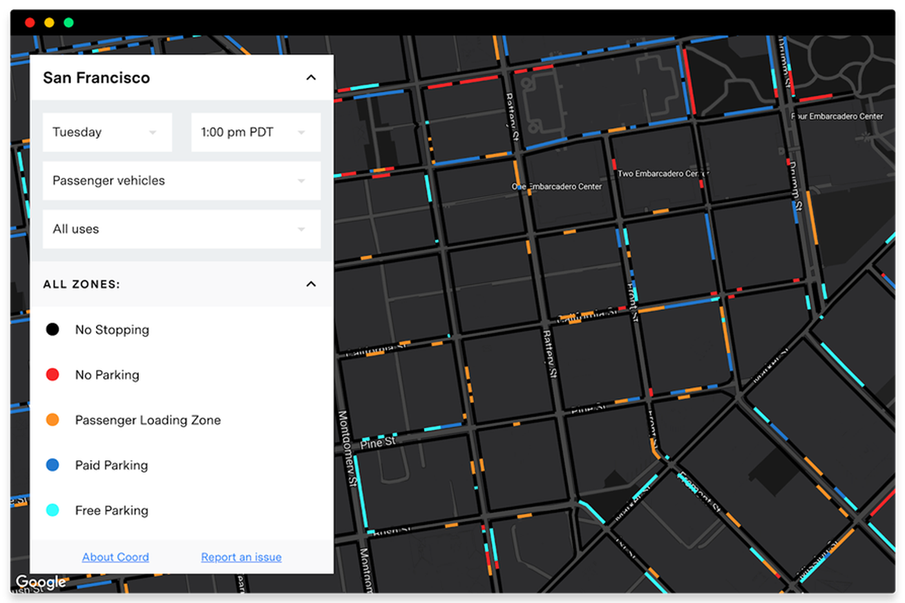 become a parking savant with sidewalk labs new curb visualization tool