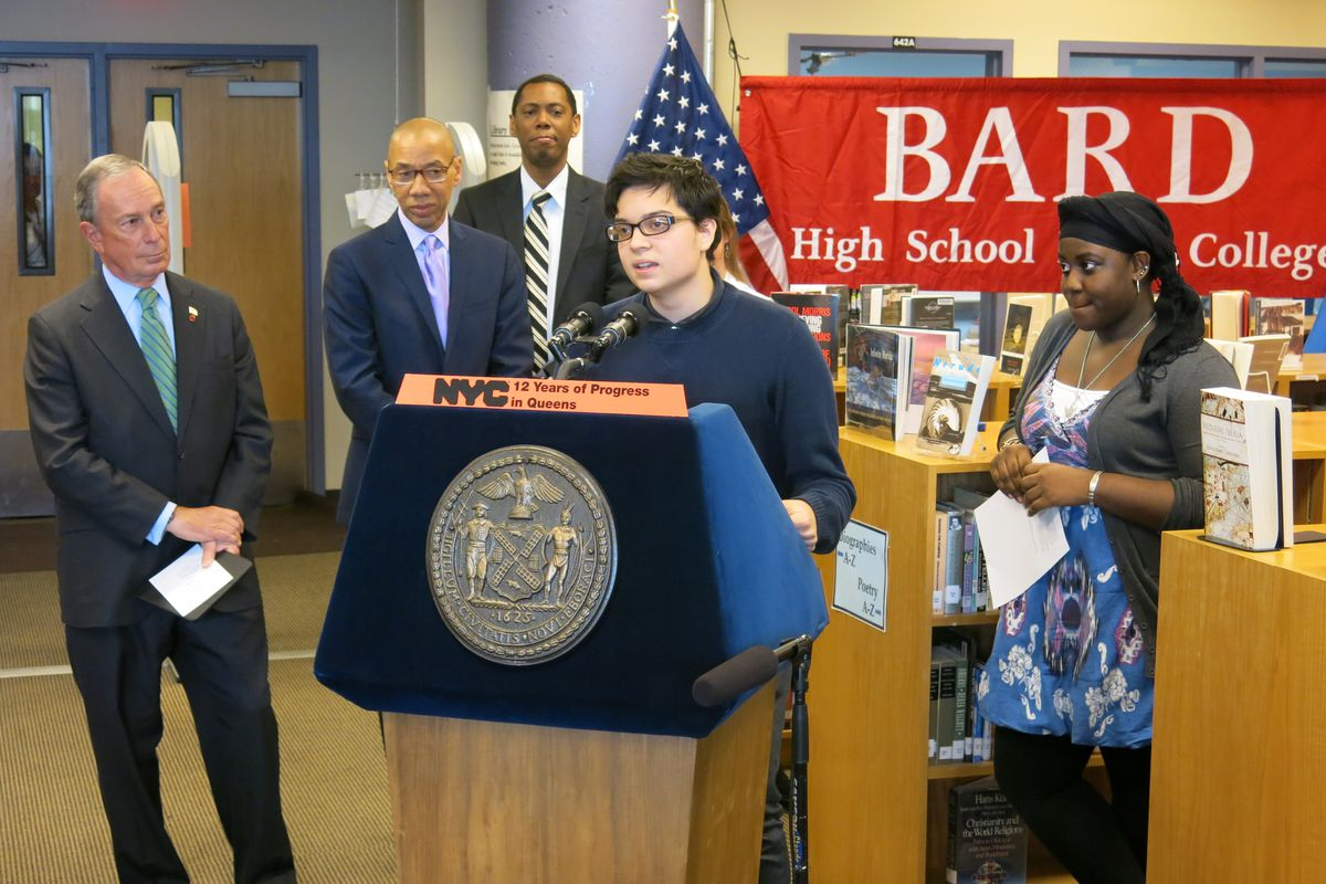 Bard Queens student Omar Ferreira said he benefitted from the personal attention of a small school last year.
