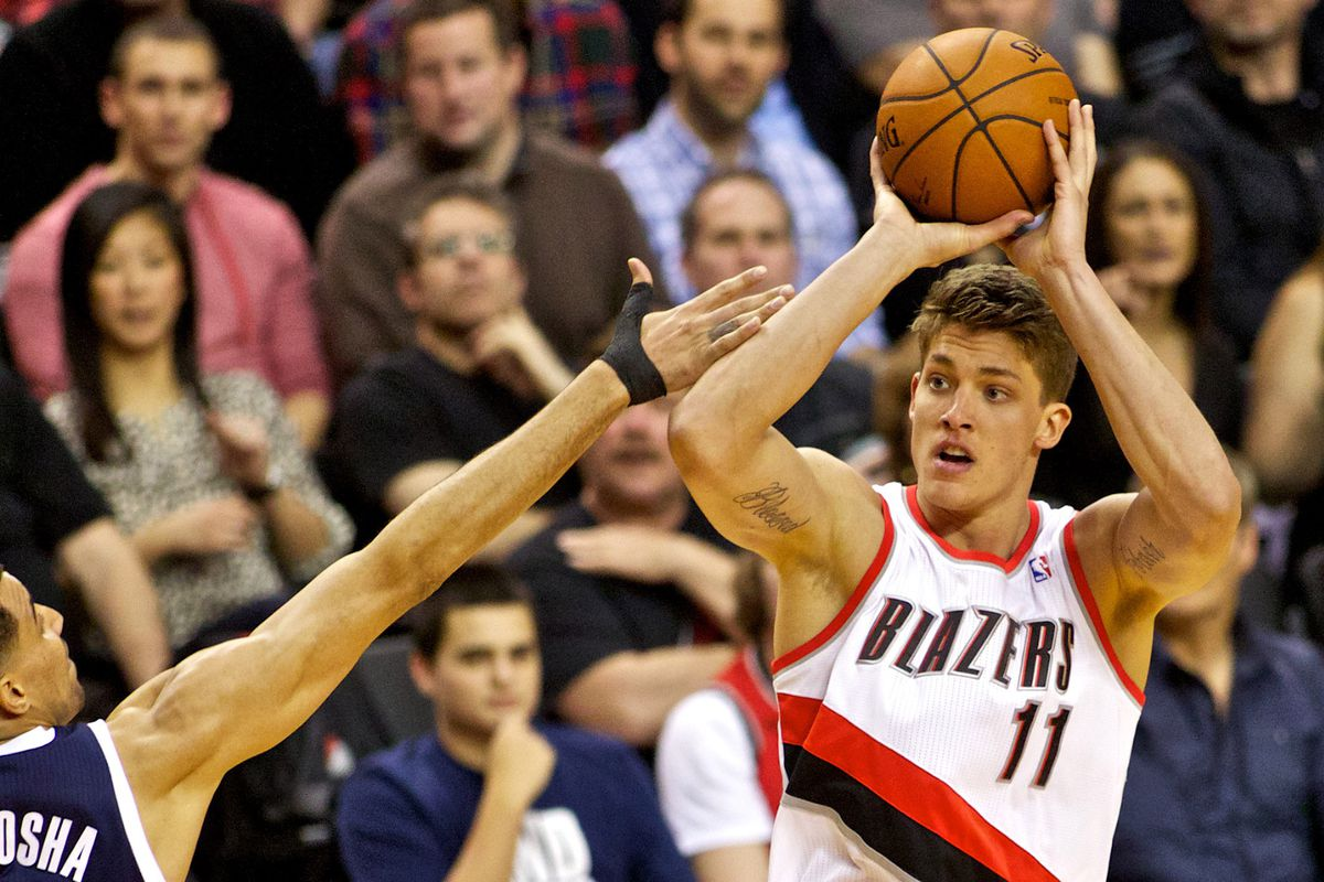 Meyers launches one from deep.