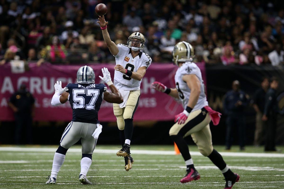 Nfl Thursday Night Football Let S Watch The Saints Bury The Cowboys
