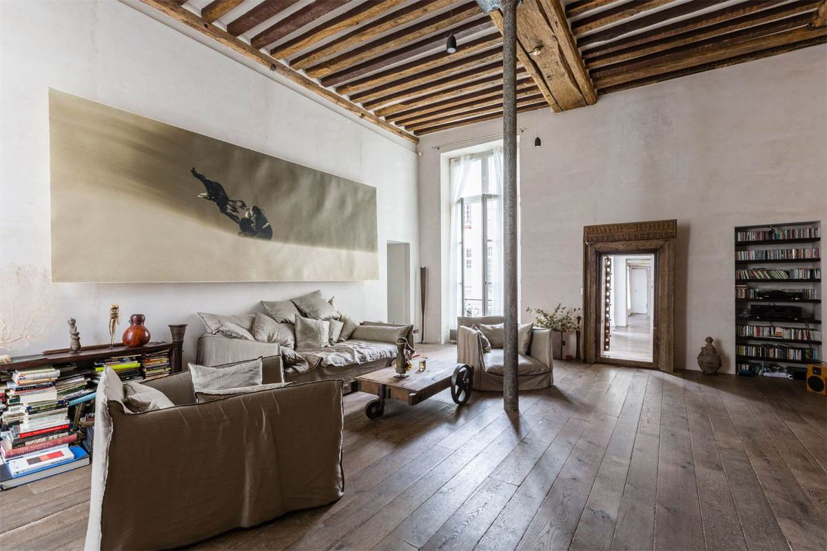 Paris Loft In Heart Of City Asks Cool 9 7m Curbed