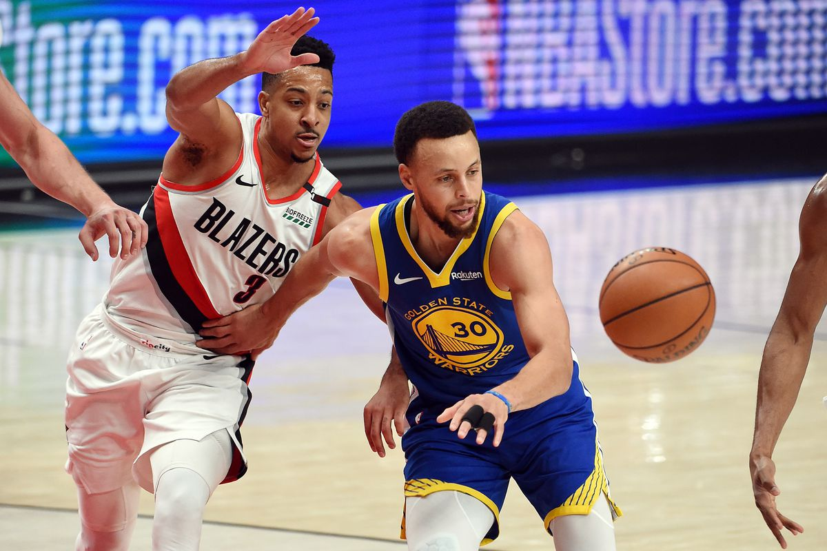 NBA refs missed two Steph Curry shooting fouls in Blazers vs. Warriors
