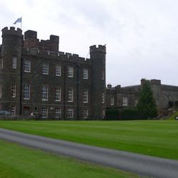 One night at Stobo Castle & Spa. Unfortunately we didn't get to the spa part.