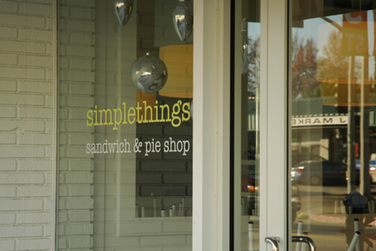 Outside simplethings, Mid-City.