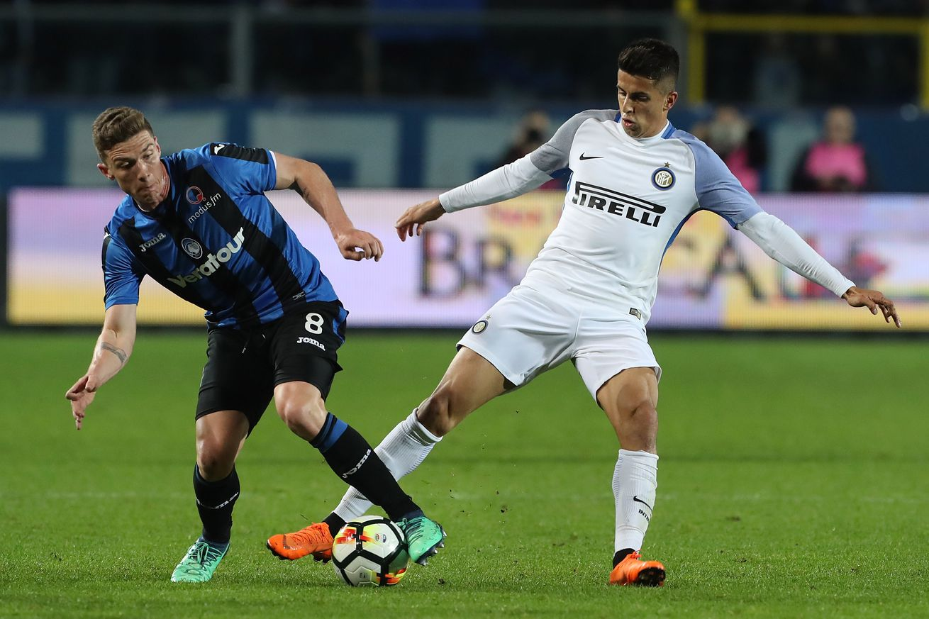 The price for Inter Milan to keep Joao Cancelo
