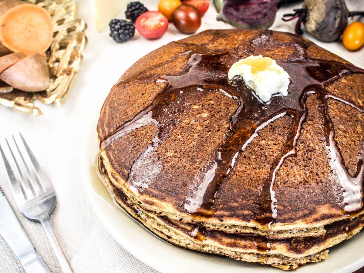 Kerbey Lane Cafe's pancakes