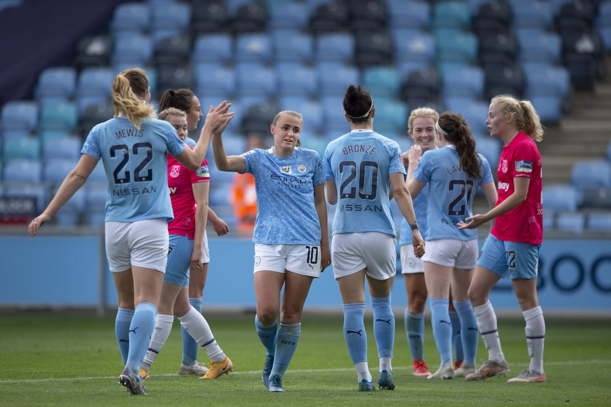 Manchester City Women v West Ham United Women - Vitality Women's FA Cup 5th Round