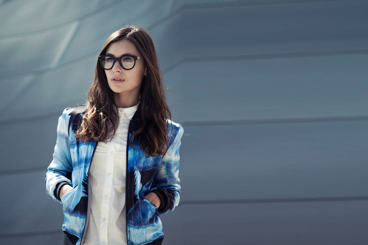 """Photo via <a href=""""http://www.itssuperfashion.com/2013/04/surface-to-air-printed-silk-bomber/"""">It's Super Fashion</a>."""