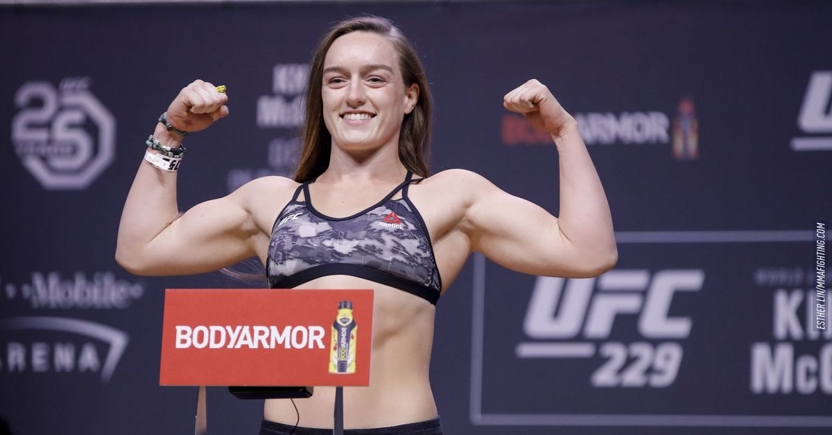 Aspen Ladd vs. Macy Chiasson scratched from UFC Vegas 32 event