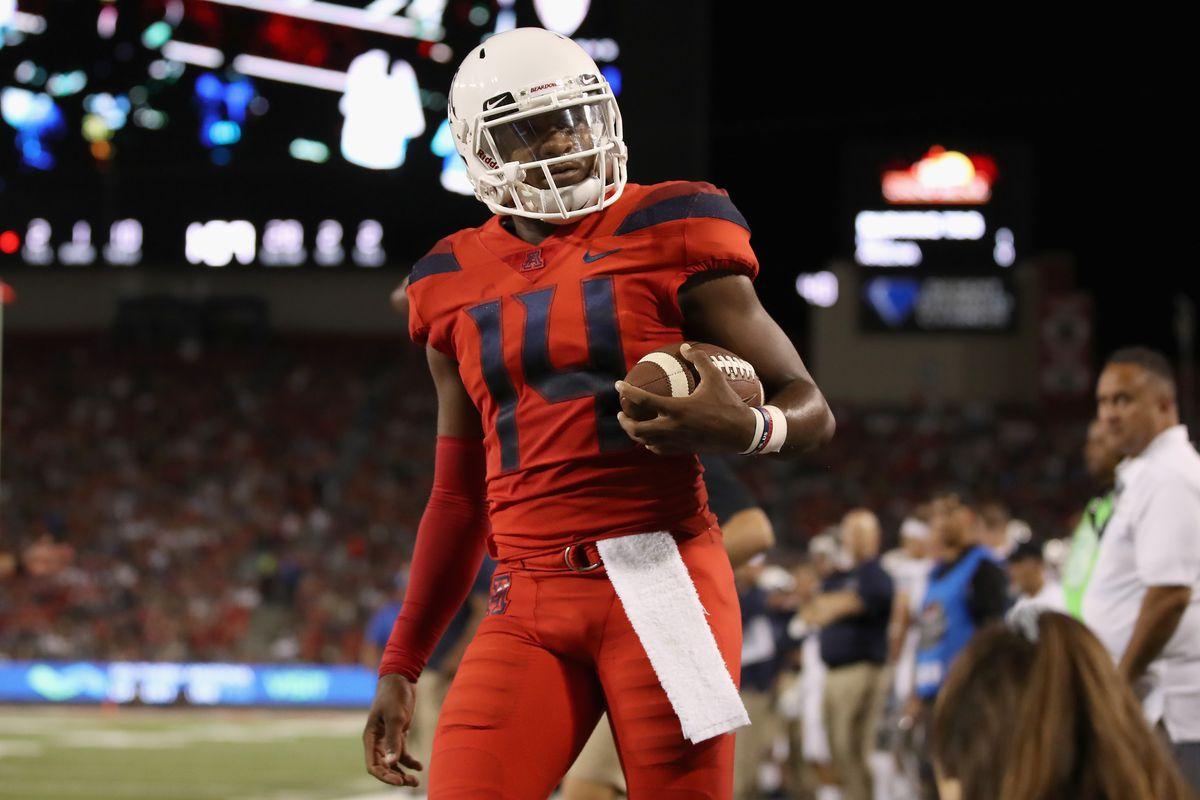 khalil-tate-sporting-news-quarterback-arizona-wildcats-espn-2019-rankings