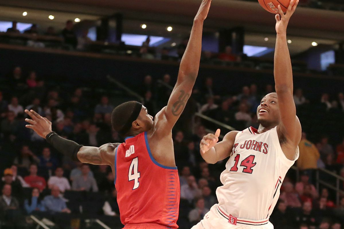 NCAA Basketball: Big East Tournament-St. John vs DePaul