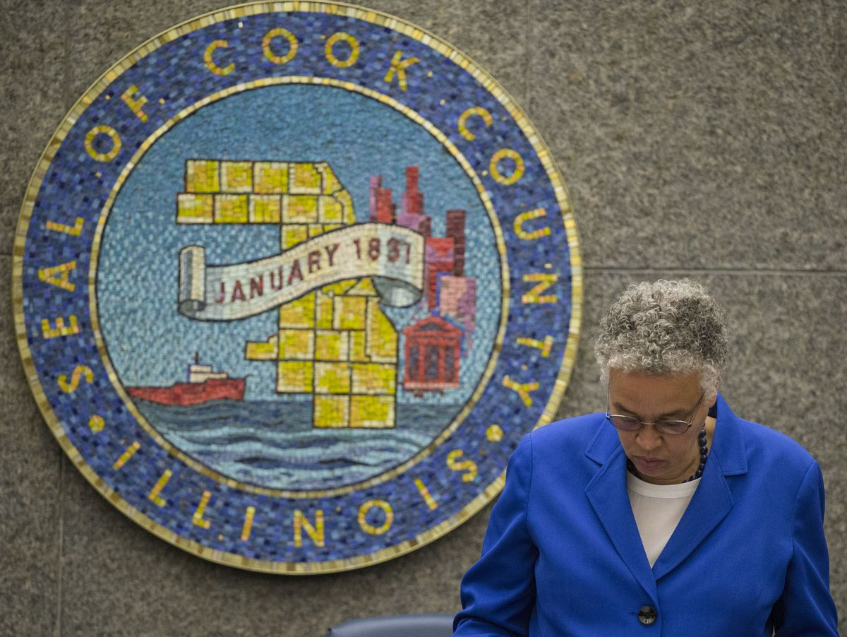 Cook County Board passes sales tax increase - Chicago Sun ...
