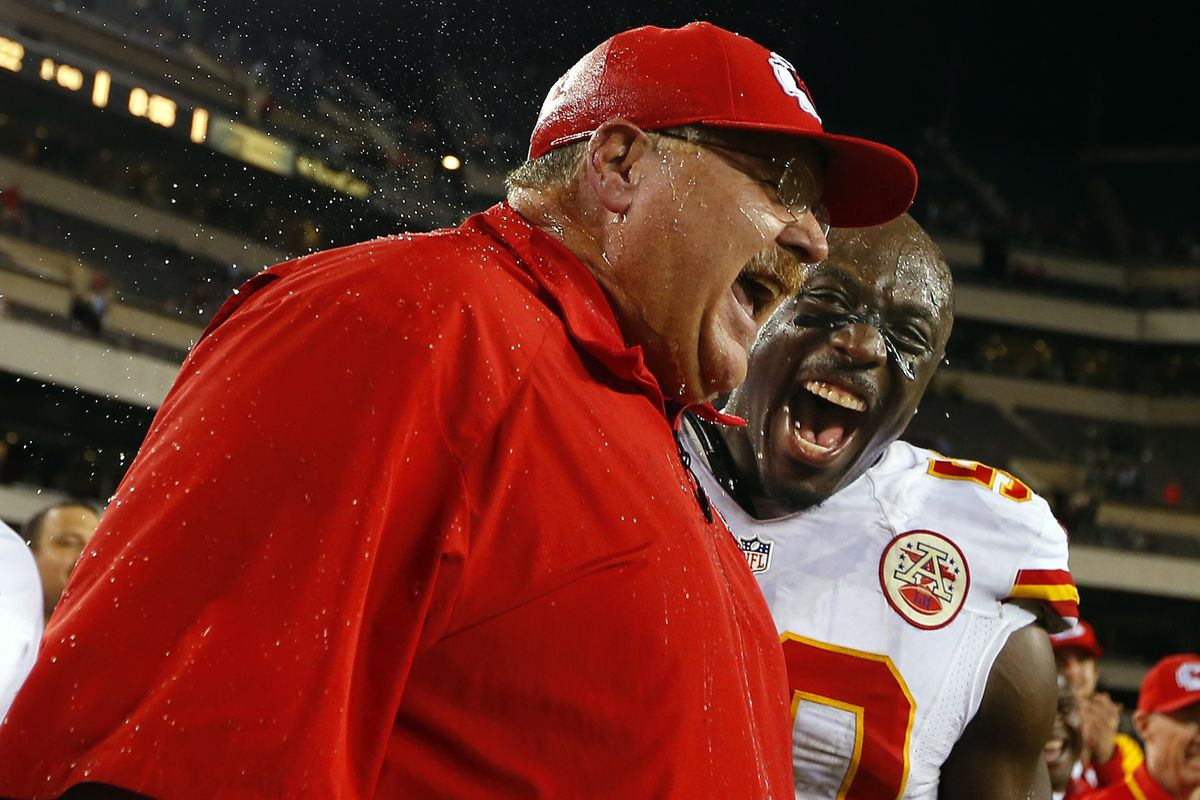 I know Andy Reid is behind this.