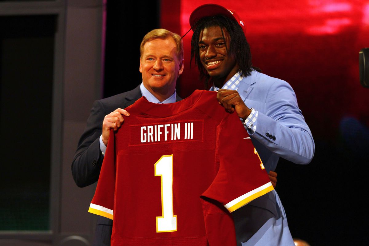 Data shows that trading up to take Robert Griffin III was a terrible idea.