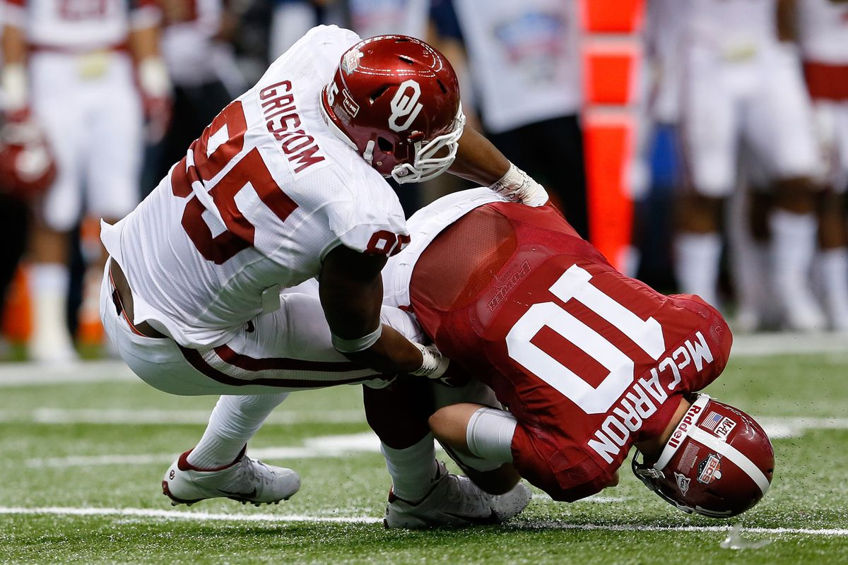 Allstate Sugar Bowl 2014: Oklahoma Sooners 45, Alabama ...