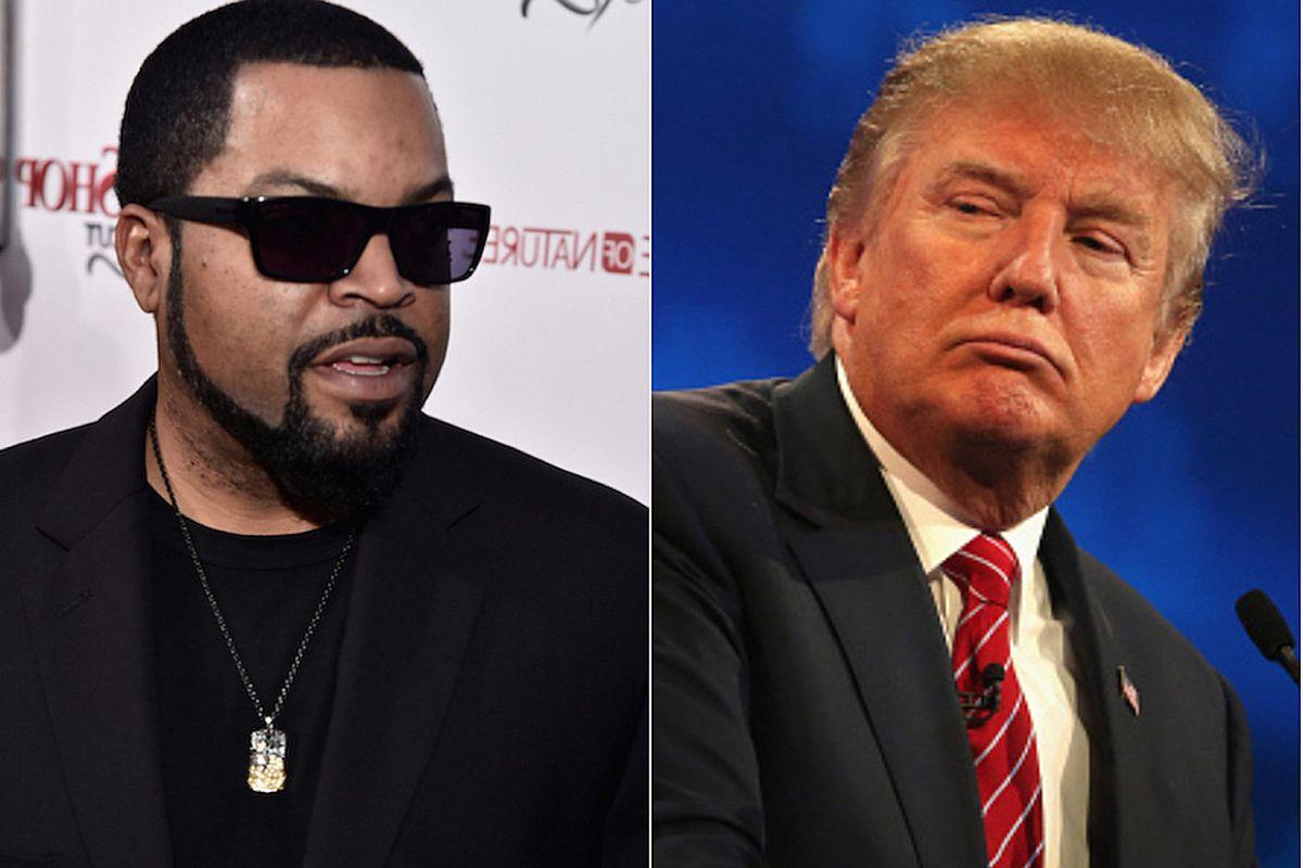 Ice Cube, Donald Trump