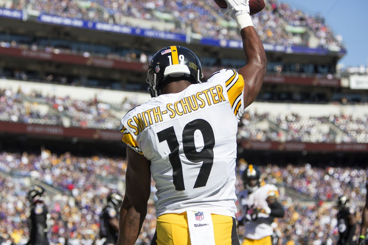 a9183d898b9 JuJu Smith-Schuster named as an ambassador to new NFL Academy in ...