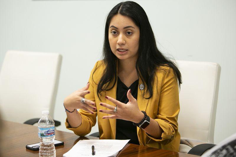 State Rep. Barbara Hernandez, D-Aurora, last year.