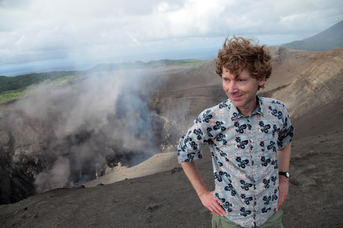 Volcanologist Clive Oppenheimer in Into the Inferno