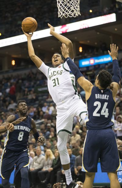 NBA: Memphis Grizzlies at Milwaukee Bucks
