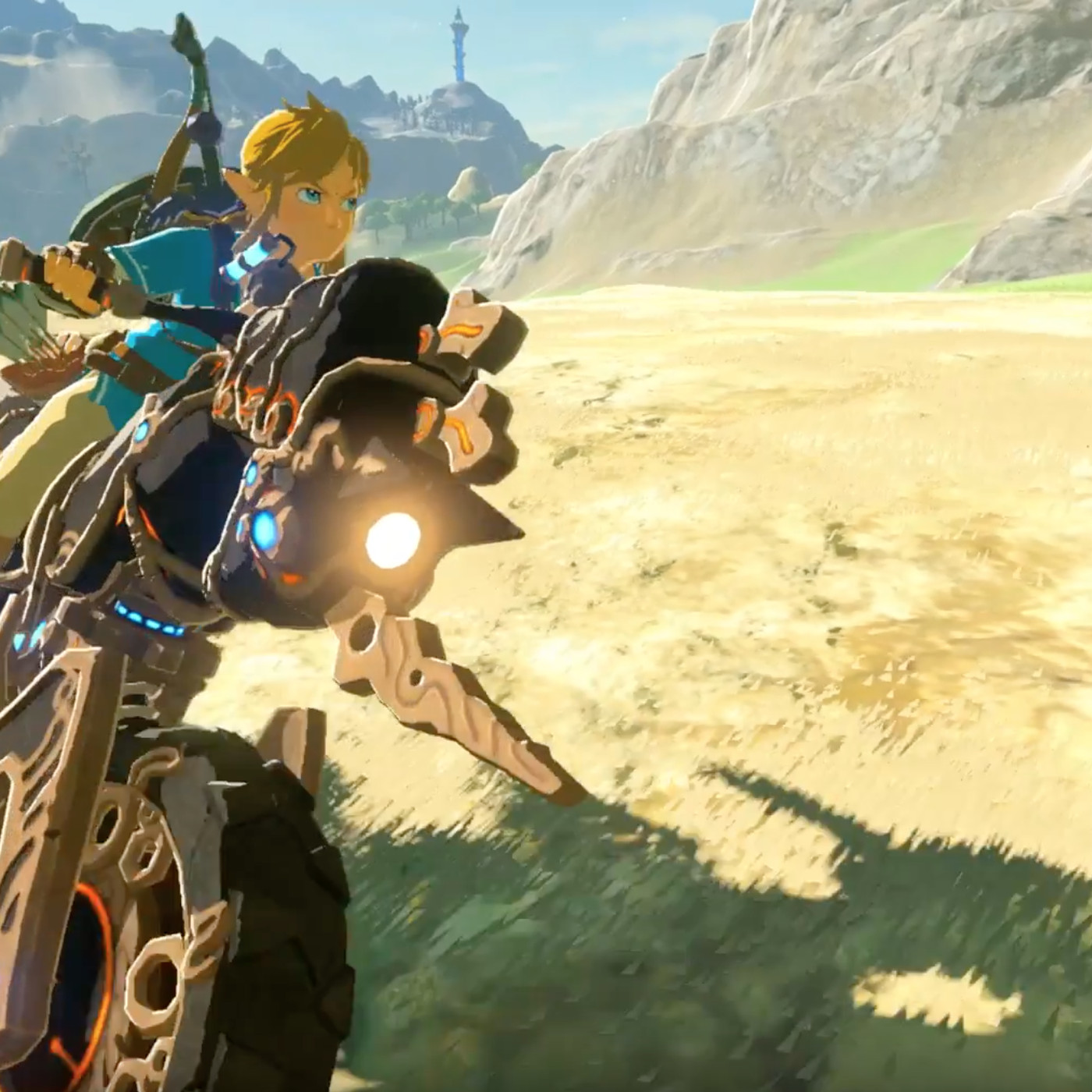 Link Can Ride A Motorcycle In Breath Of The Wild S New Dlc The Verge