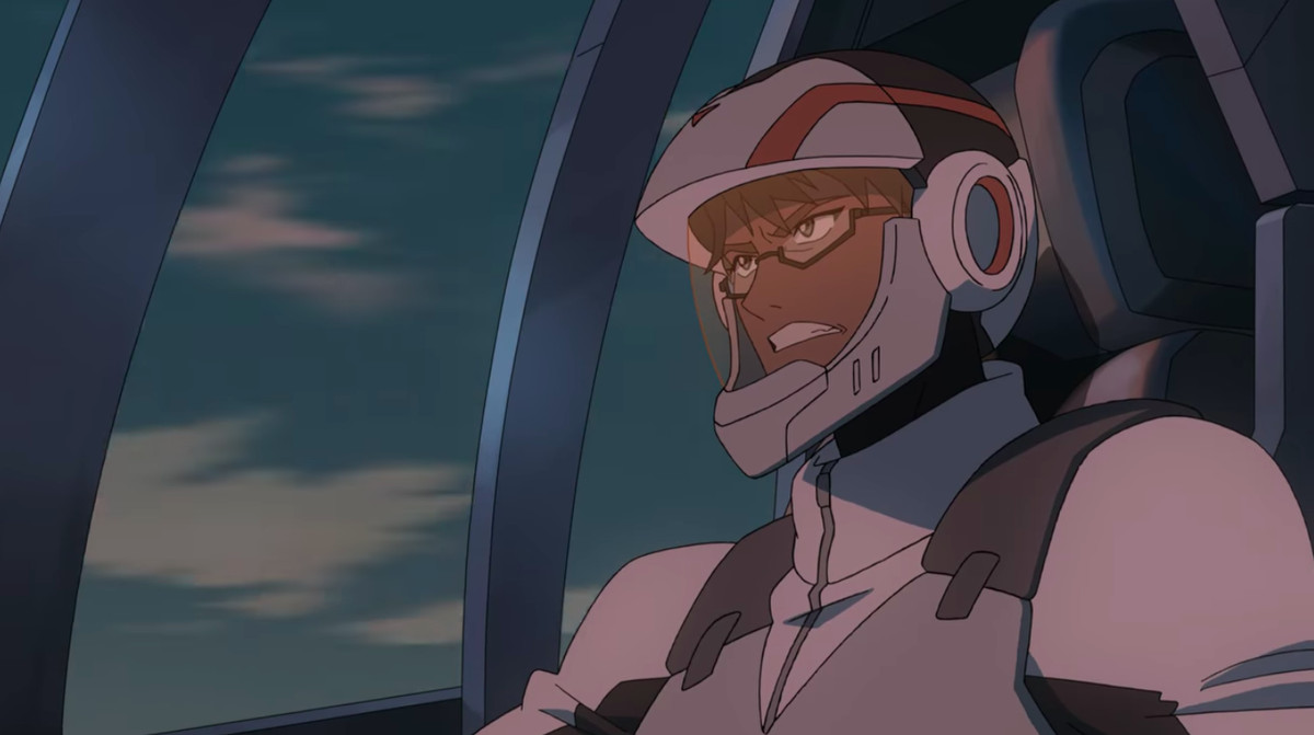 Adam during the Earth Campaign in Voltron.