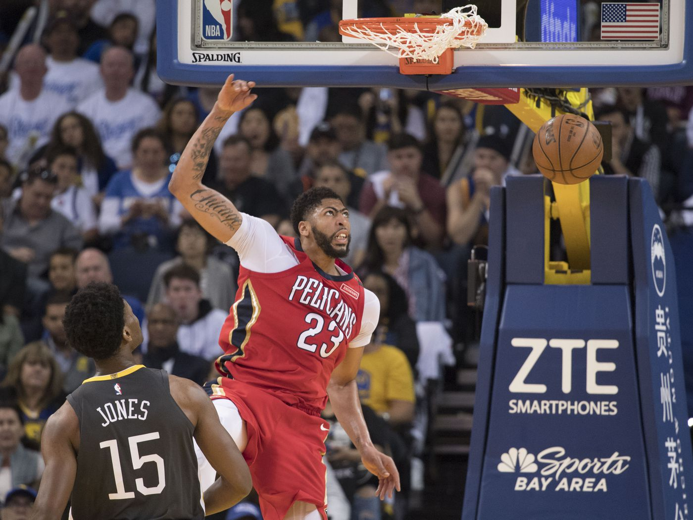 2451e0fc8 The New Orleans Pelicans finally stood up to their neighborhood bully — the  Golden State Warriors — and won - The Bird Writes