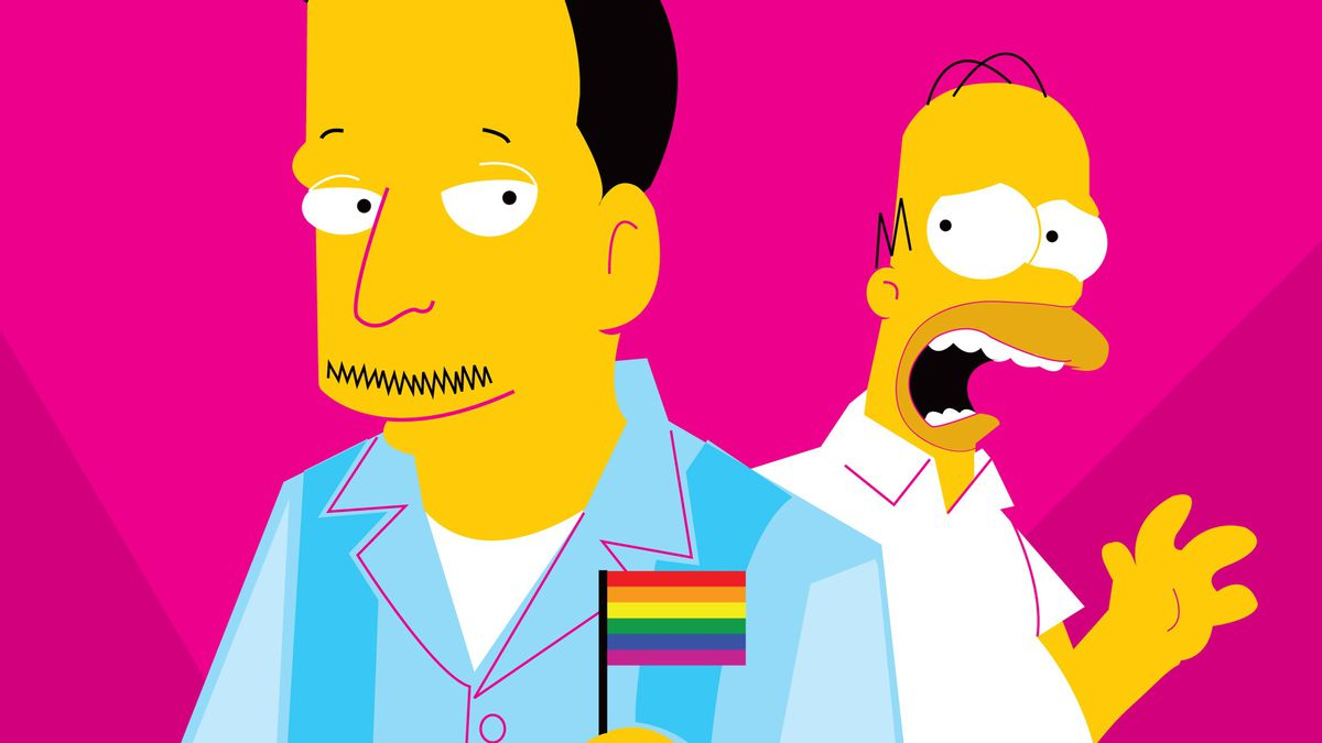 When 'The Simpsons' Came Out of the Closet