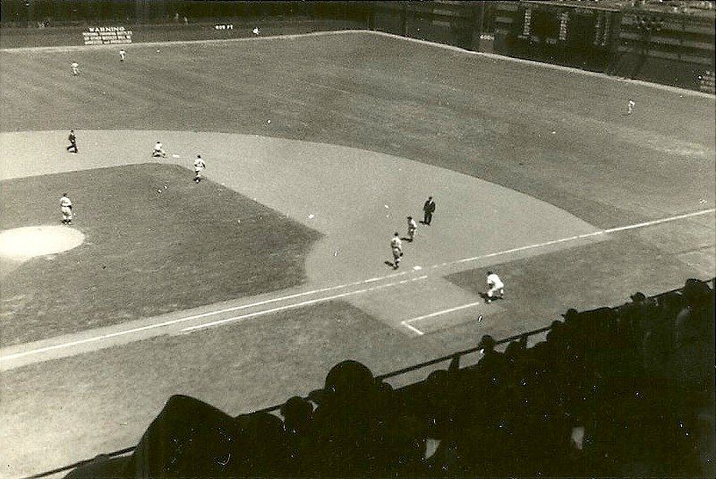 Shibe Park in Philadelphia. The corner in center field is 468 feet from home plate.