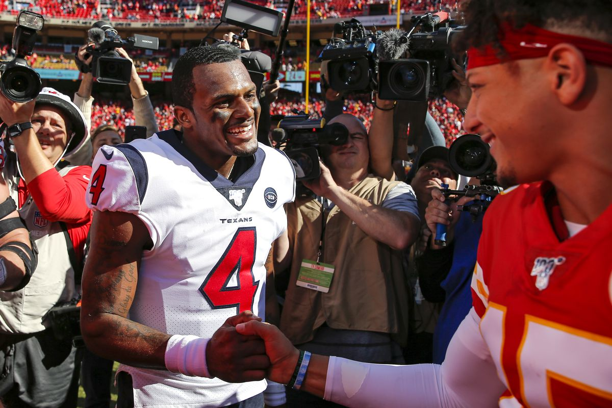 A Patrick Mahomes Deshaun Watson Meeting Is More Pain For