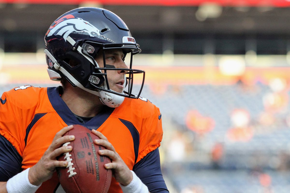 Case Keenum Wants To Leave The Broncos Better Than He Found It Are The Playoffs In The Cards Casey Barrett Of Mile High Report