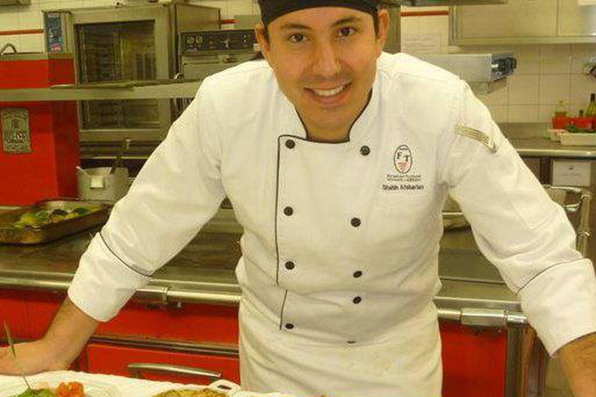 Shahin Afsharian, Culinary Director at Salati