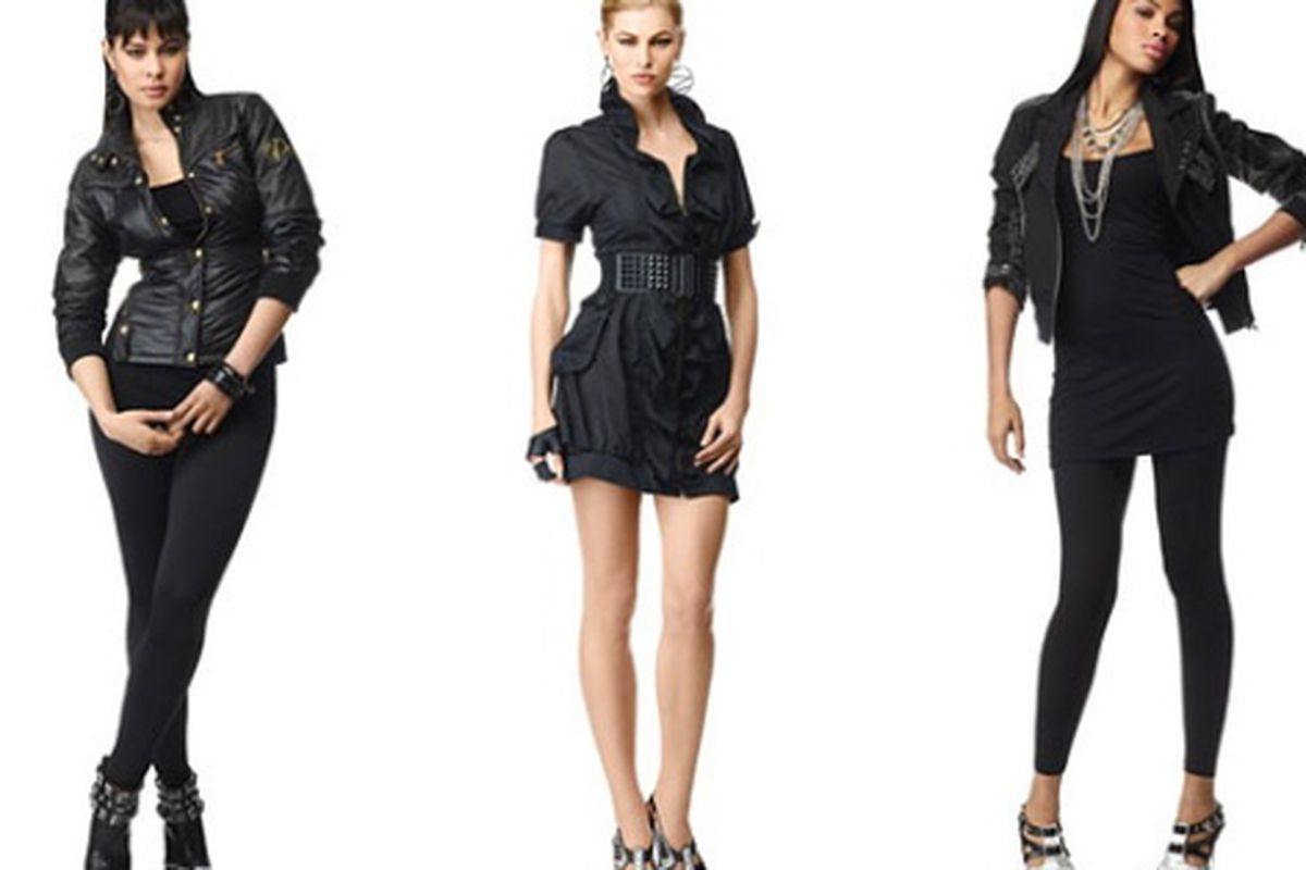 """Looks from Beyonce's Sacha Fierce line. Image via <a href=""""http://nymag.com/daily/fashion/2009/07/beyonces_launching_a_sasha_fie.html"""">The Cut</a>"""