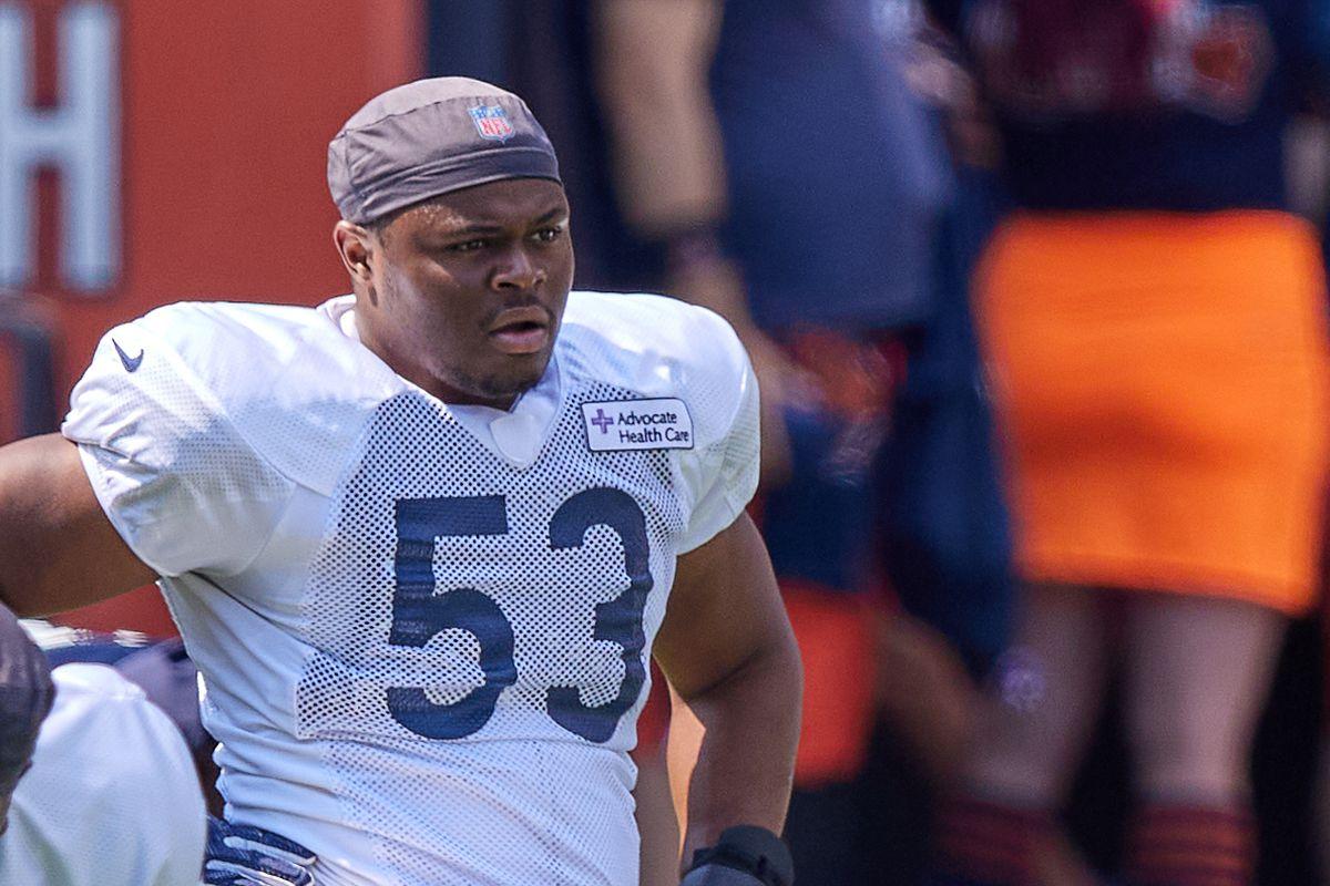 NFL: AUG 03 Chicago Bears Training Camp