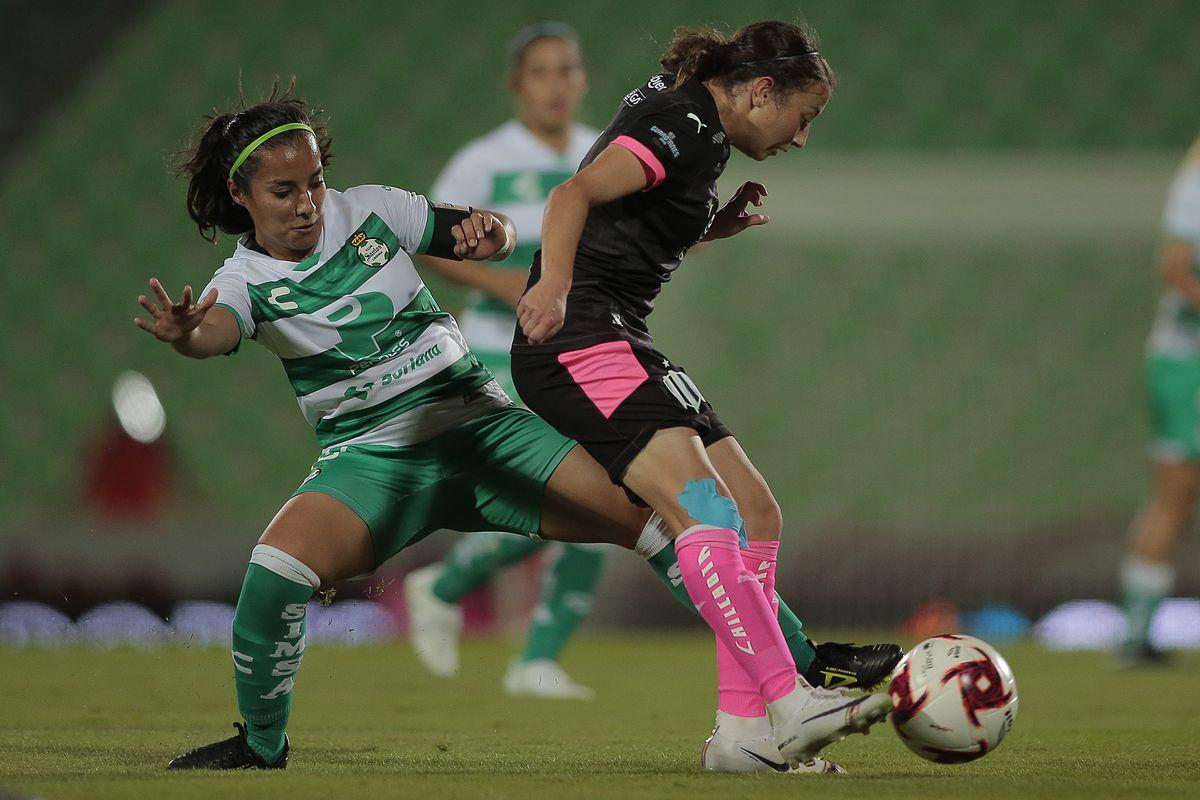 Santos Laguna v Monterrey - Guard1anes 2020 Liga MX Femenil