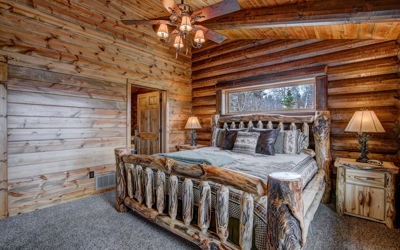 Log cabin kits let you build your dream mountain retreat