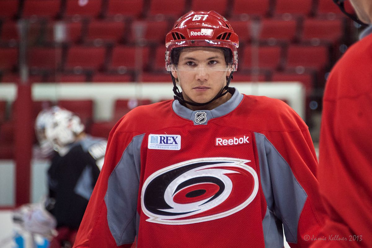 Undrafted invitee Sergey Tolchinsky was surprise of camp
