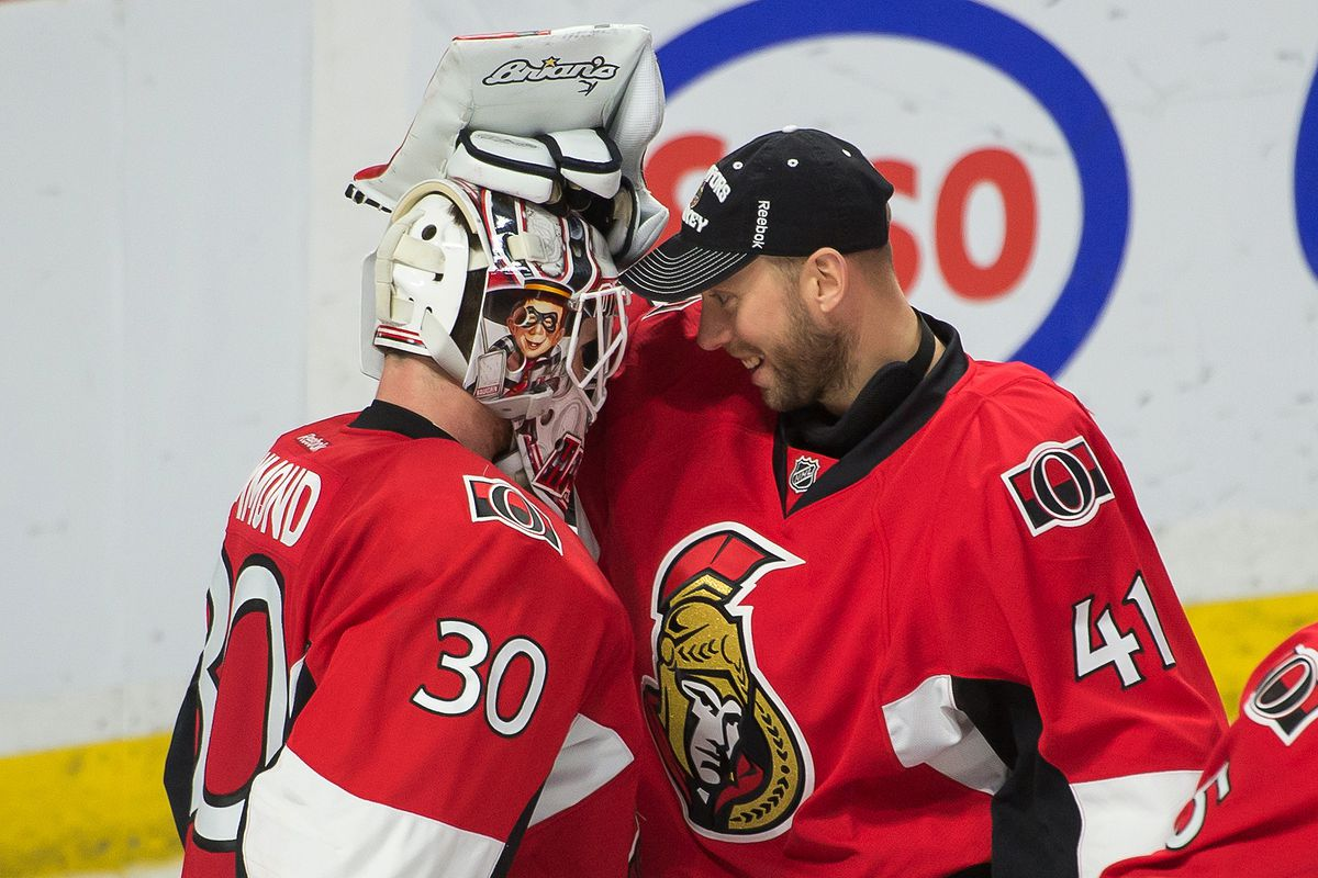 Is this Ottawa's goaltending duo next season?