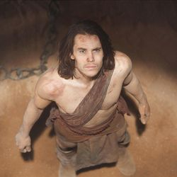 """Taylor Kitsch of """"Friday Night Lights"""" fame stars as the title character in """"John Carter."""" The Disney film, based on the Edgar Rice Burroughs novel, will be released in March."""