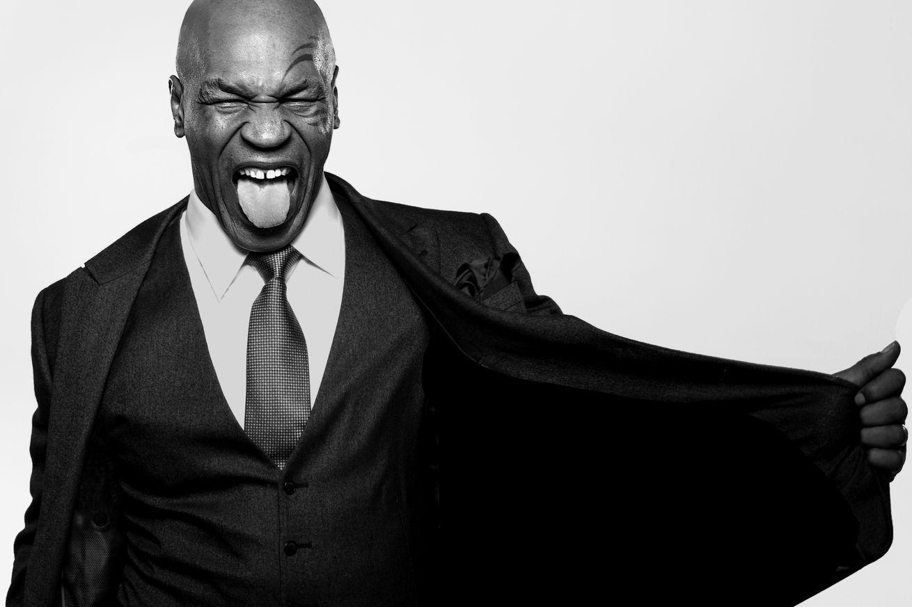 Mike Tyson Portrait Session 2015
