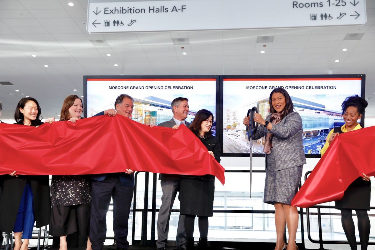 Image result for mayor london breed at moscone soiree