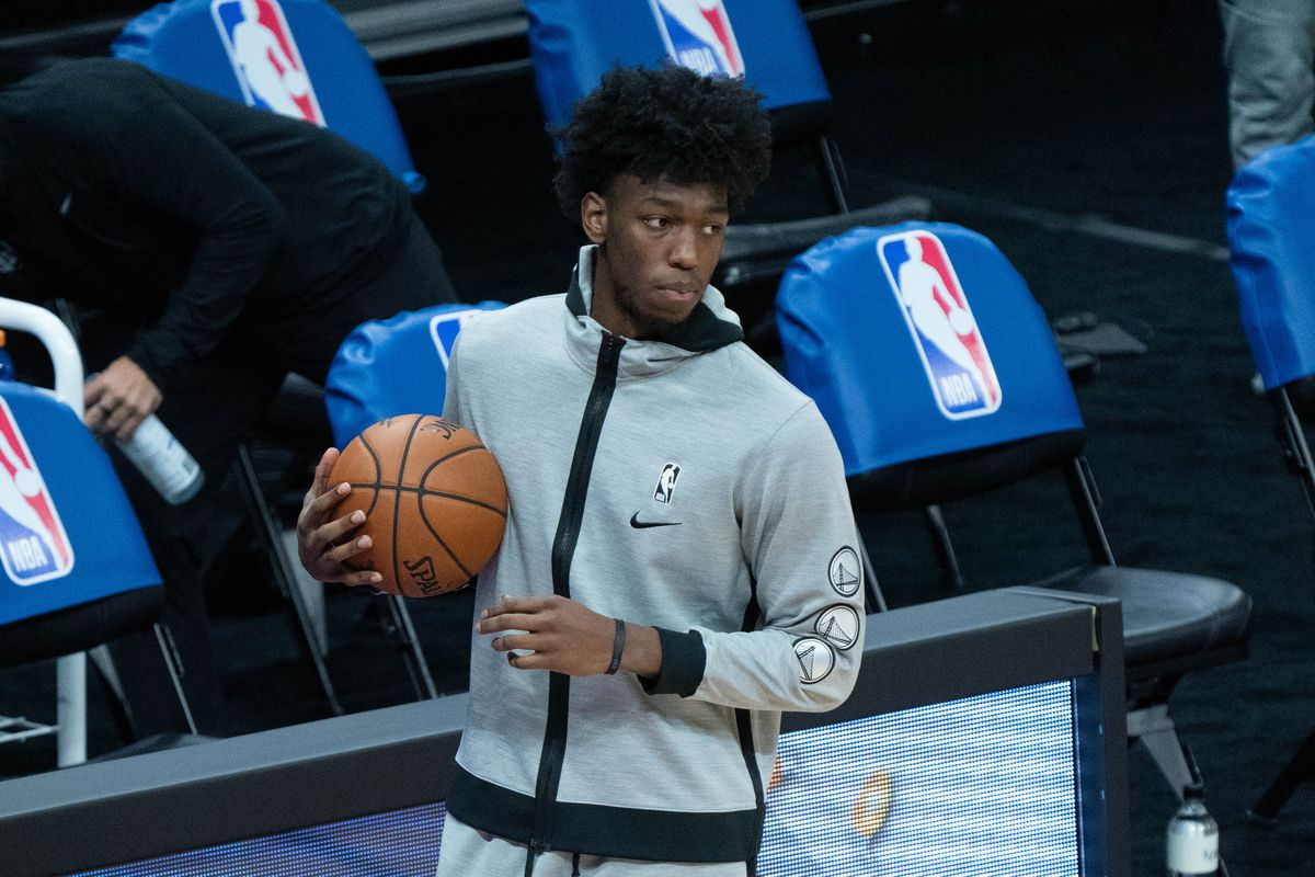 James Wiseman Stats Warriors Rookie Scores 19 Points In Nba Debut Tuesday Vs Nets Draftkings Nation