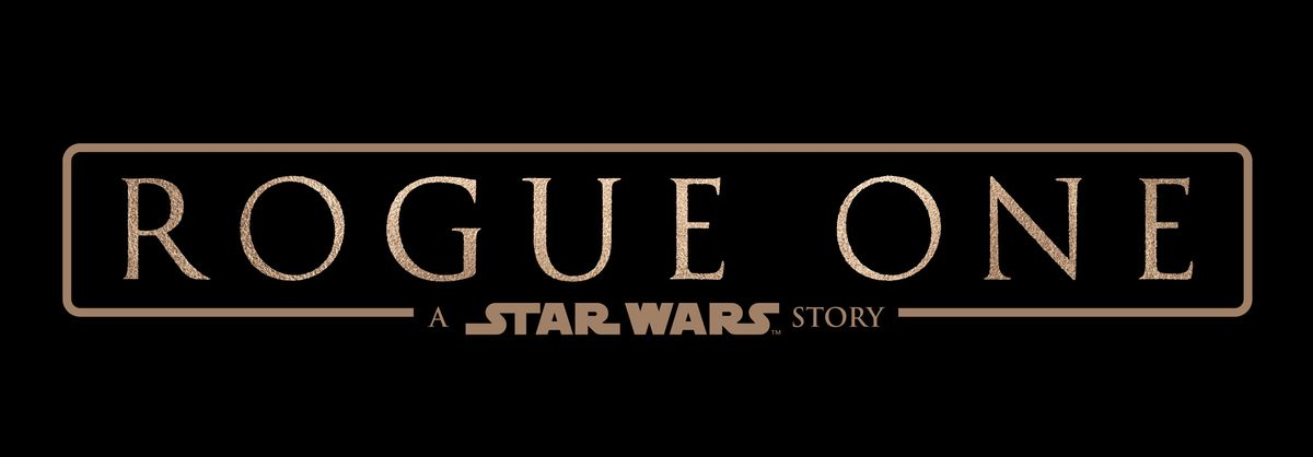 Star Wars Rogue One Title Card