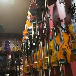 Instruments from around the world dot almost every square inch of Andy's Music, in Avondale.   Tyler LaRiviere/Sun-Times