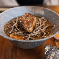 """Foie Gras Soba from Bohemian by <a href=""""http://www.flickr.com/photos/nicknamemiket/5883799916/in/pool-eater/"""">nicknamemiket</a>."""