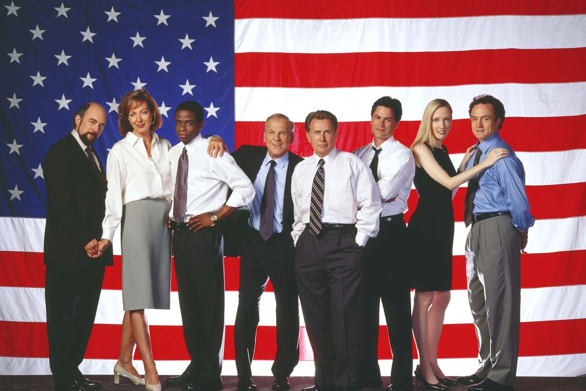 The cast of the The West Wing.