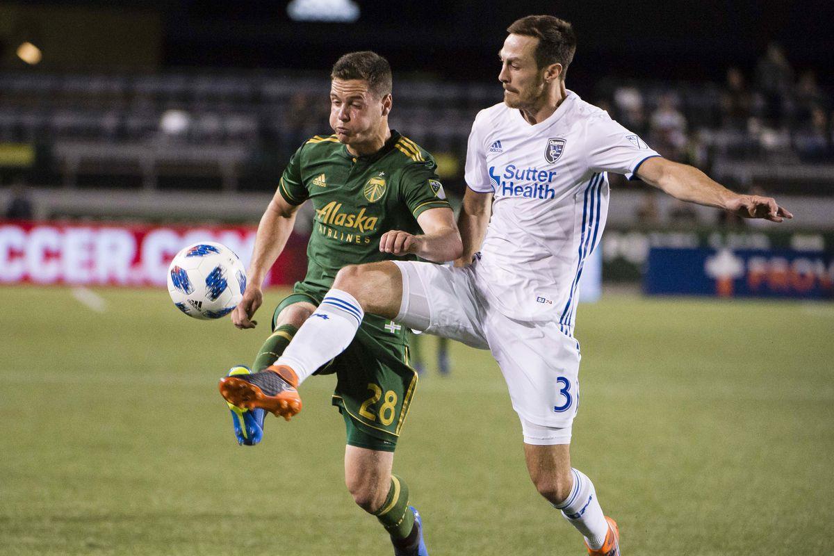MLS: U.S. Open Cup-Portland Timbers vs San Jose